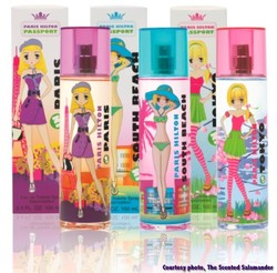 Paris Hilton Passport Fragrance Collection Paris, South Beach, Tokyo (2011) {New Fragrances} {Celebrity Perfumes}