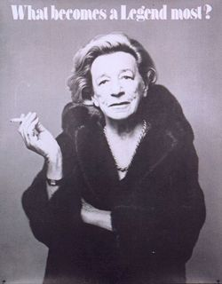 Discussion on Inspiration Source for Louis Vuitton Ad with Keith Richards: Lillian Hellman for Blackglama {The Readers Talk Back} {Beauty Notes}
