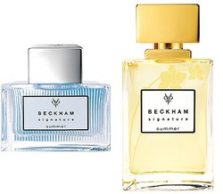 David & Victoria Beckham Signature Summer for Him & Her (2011) {New Fragrances - Limited Editions} {Celebrity Fragrances}