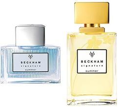 David & Victoria Beckham Signature Summer for Him & Her (2011) {New Fragrances - Limited Editions} {Celebrity Fragrances}