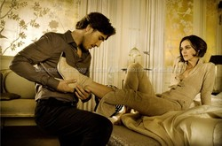 Keira Knightley Gets Her Boots Taken Off by Handsome Stranger in New Coco Mademoiselle Ad {Perfume Images & Ads}