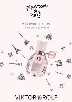 Viktor & Rolf Flowerbomb de Paris (2011): Very Limited Edition {New Fragrance}