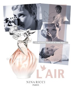 Nina Ricci L'Air (2011): Subtle Body - Corps Subtil {Fragrance Review}