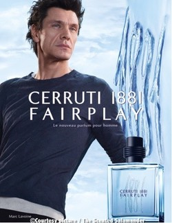 Cerruti 1881 Fairplay (2011): Casual Chic {New Fragrance} {Men's Scents} {Celebrity Perfume}
