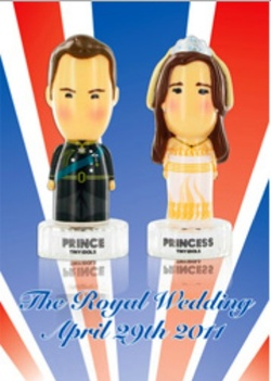 Tiny Idols Prince and Princess (2011): Royal Wedding Party Favors {New Perfumes} {Celebrity Fragrances}