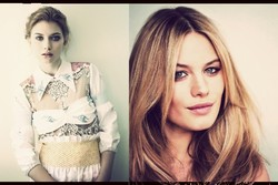 New Chloé Ad Campaign with Imogen Poots & Camille Rowe Pourcheresse {Fragrance News} {Perfume Images & Ads}