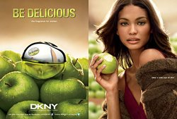 DKNY Be Delicious New Pluralistic Ad Campaign with Chanel Iman & Fei Fei Sun {Fragrance News} {Perfume Images & Ads}