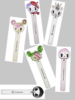 Tokidoki Launch 6 Deathly Cute Rollerball Fragrances (2011) {New Fragrances}