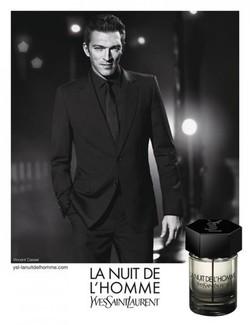 Darren Aronofsky Shoots New Commercial for La Nuit de L'Homme by YSL with Vincent Cassel {Perfume Images & Ads}