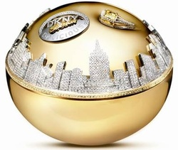 DKNY Golden Delicious in Solid Gold & Gems {Fragrance News - New Flacon}