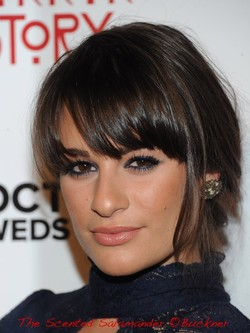 The Scoop on Lea Michele's Glowing + Smouldering Makeup at the American Horror Story Premiere {Beauty Notes - Makeup - Celebrity}