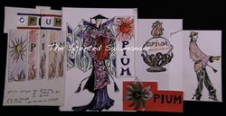 A Still from L'Amour Fou: How Yves Saint Laurent Saw Opium Originally {Perfume Images & Ads}