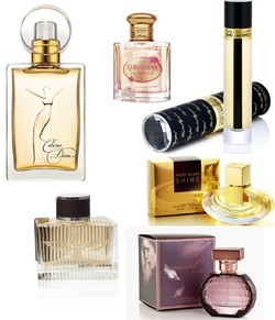 Six New Celebrity Fragrances to Try Out this Fall 2011 {Perfume List - Short Reviews - Celebrity Scents}