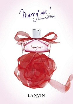 Lanvin Marry Me! Love Edition Wafts of Red Roses for Valentine's Day (2012) {New Fragrance}