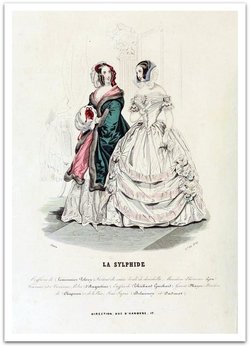 An Early 1841 Guerlain Advertisement under the Monarchie de Juillet: The Consumption of Paris, Fashion & Perfume {Perfume Images & Adverts} {Scented Thoughts}