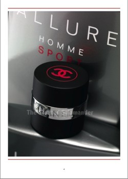 Chanel Allure Homme Sport Eau Extrême (2012): Aromatic Musk {New Perfume} {Men's Cologne}