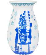 Please Smell Us Flower Vase {Home Decoration}