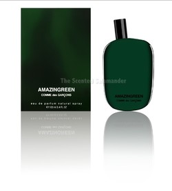 Comme des Garçons Amazingreen (2012): Green Perfume Supremo {New Perfume}