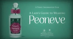 Peoneve by Penhaligon's Pastiches Advice Literature {Perfume Images & Ads}