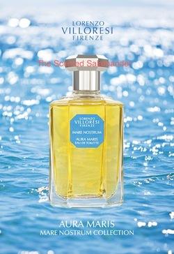 Lorenzo Villoresi Mare Nostrum Aura Maris (2012) {New Perfume}