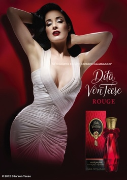 Dita Von Teese Rouge (2012): Tea & Me {New Perfume} {Celebrity Fragrance}