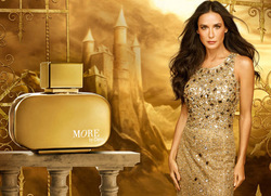 Oriflame and Demi Moore Partner to Launch Fragrance More by Demi (2012) {New Perfume} {Celebrity Fragrance} {Perfume Ads}