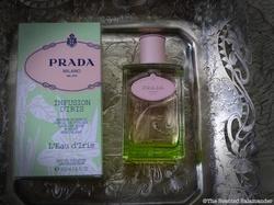 Prada Infusion d'Iris L'Eau d'Iris (2013): Pink Laurel Floating onto Iris Petals {New Perfume}