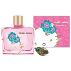 Hello Kitty Peacock (2013) {New Perfume} {Celebrity Fragrance}