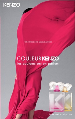 Kenzo's New Take on Both Perfume & Color: Rose-Pink, Jaune-Yellow (2013) {New Perfumes}