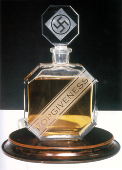 Charles Krafft, his Forgiveness Perfume Bottle Series & Nazism Exposed {Culture & Art Notes}