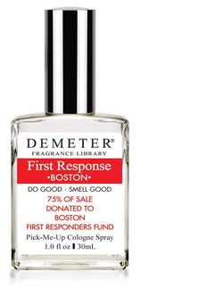 Demeter First Response Boston (2013): Honoring the Boston Marathon Bombing & Boston's Firefighters {New Perfume}