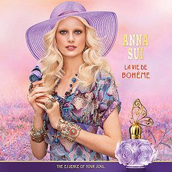 Anna Sui La Vie de Bohême (2013): Born Again Boho {New Perfume}