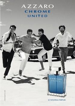 Azzaro Chrome United (2013): Celebration of Masculine Friendship {New Fragrance} {Men's Cologne}