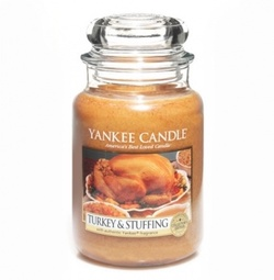 Yankee Candle Add Innovative Savory Turkey & Stuffing Candle to Thanksgiving Collection (2013) {Home Fragrance}