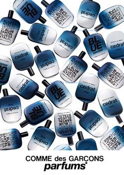 Comme des Garçons is a Blue Invasion of Planet Earth (2013) {New Fragrances}