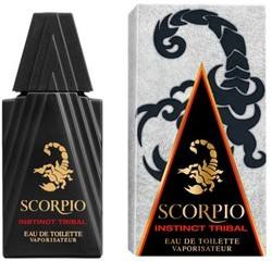 Scorpio Gets a Revamp with Instinct Tribal Created by Olivier Polge (2013) {New Fragrance} {Men's Cologne} {Perfume Images & Ads}