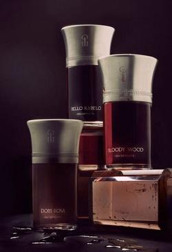 Les Liquides Imaginaires Les Eaux Sanguines Dom Rosa, Bloody Wood & Bello Rabelo (2013) {New Perfumes}