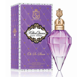 Katy Perry Killer Queen Oh So Sheer (2014) {New Fragrance} {Celebrity Perfume}