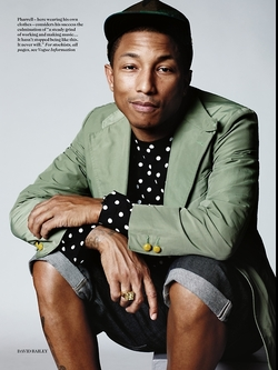 Pharrell Williams + Comme des Garçons G I R L (2014) {New Perfume} {Celebrity Fragrance}