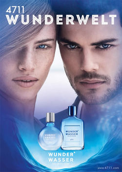 4711 Wunderwasser für Sie und Ihn / for Her & Him (2014) {New Fragrances} {Men's Cologne}