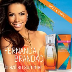 Fernanda Brandao Brazilian Summer (2014) {New Perfume} {Celebrity Fragrance}
