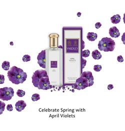 Yardley April Violets is Back (1913/2014) {Fragrance News} {New Perfume} {Violet Notebook}