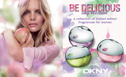 DKNY Be Delicious City Blossom Rooftop Peony, Urban Violet & Empire Apple (2014) {Perfume Short Reviews}