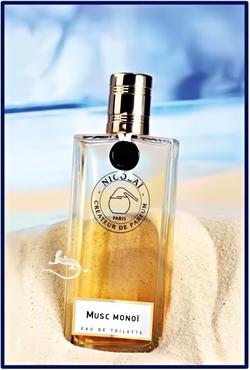 Nicolaï, Parfumeur-Créateur Musc Monoï (2014) {New Perfume}