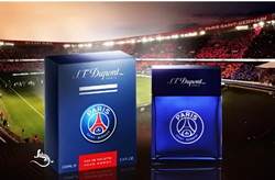 S.T. Dupont & Paris Saint-Germain Partner for Official Perfume (2014) {New Fragrance} {Men's Cologne}