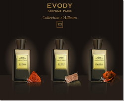 Evody to Launch New Collection d'Ailleurs Inspired by Travel Diaries (2014) {New Perfumes}