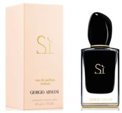 Giorgio Armani Si Eau de Parfum Intense (2014) {New Perfume}