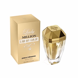 Paco Rabanne Lady Million Eau My Gold! (2014) {New Perfume}