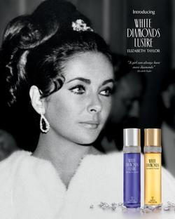 Elizabeth Taylor White Diamonds Lustre is Fronted by Nia Long (2014) {New Fragrance} {Celebrity Perfume}