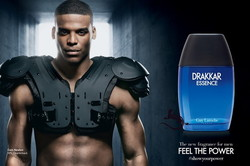 Guy Laroche Drakkar Essence Featuring Cam Newton (2014) {New Fragrance} {Men's Cologne} {Celebrity Perfume}